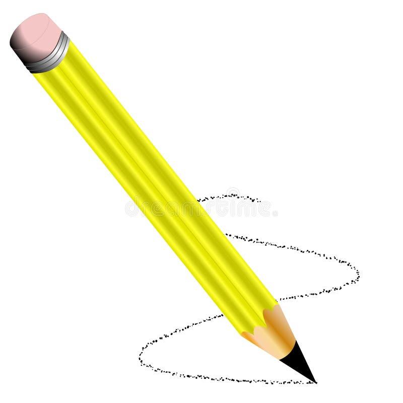 Download Sharp Yellow Pencil Royalty Free Stock Image - Image: 383646