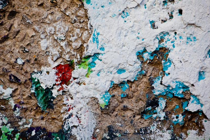 Sharped tekstury Moskwa stara ścienna ulica zdjęcia royalty free