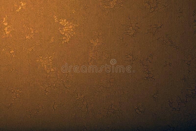 Sharped tekstury studia stary ścienny światło zdjęcia stock