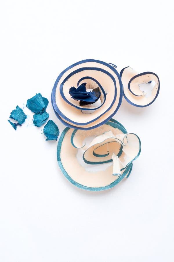 Free Sharpened Blue Eyeliner Royalty Free Stock Photo - 13021765