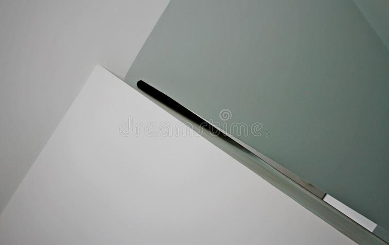 Sharpened ceiling stock image