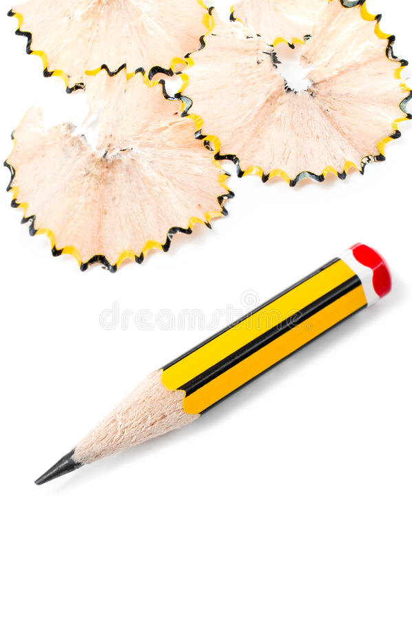 Download Sharpened small pencil stock photo. Image of wood, work - 24306382