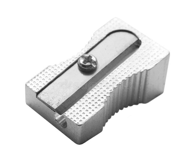 Sharpener. Pencil sharpener isolated on white stock photo