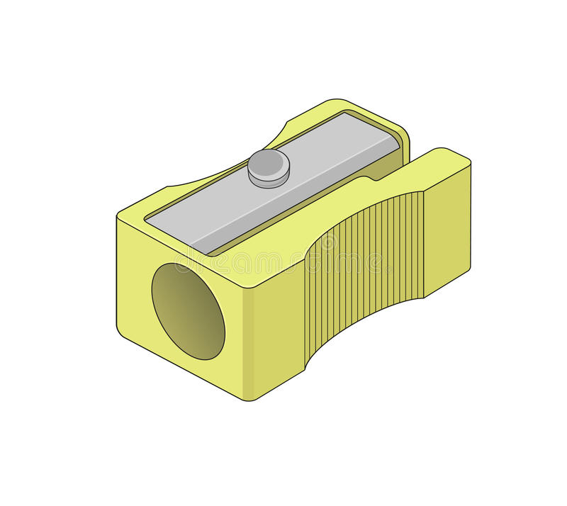 sharpener ilustração stock