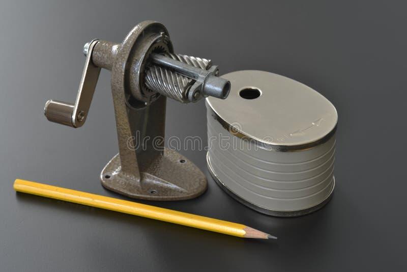 Sharpener de lápis fotos de stock