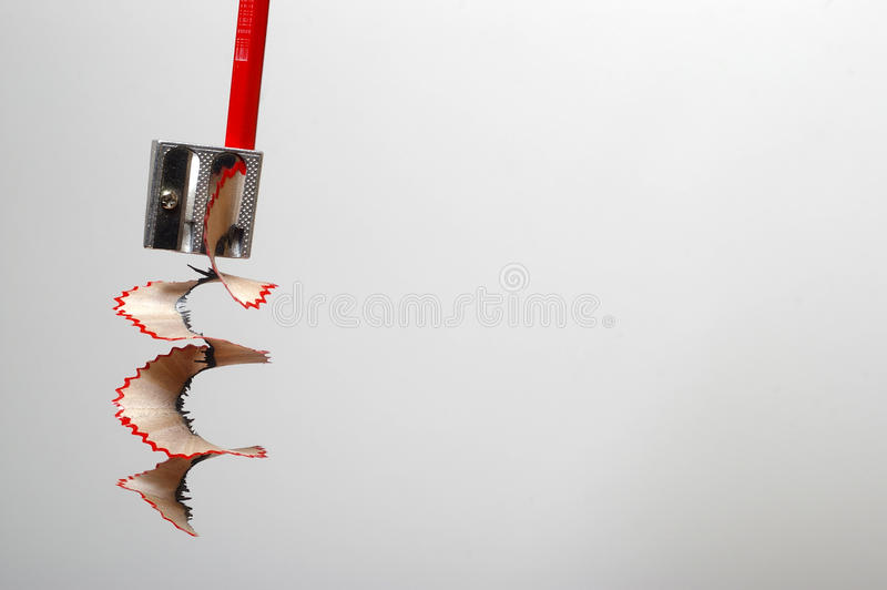 Sharpner voor pensils stock afbeelding