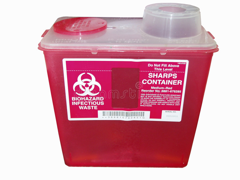 Download Sharps container stock photo. Image of infection, safe - 456772