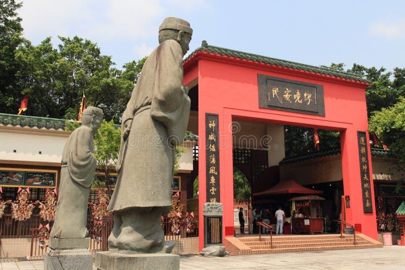 Shatin,香港寺庙  免版税图库摄影