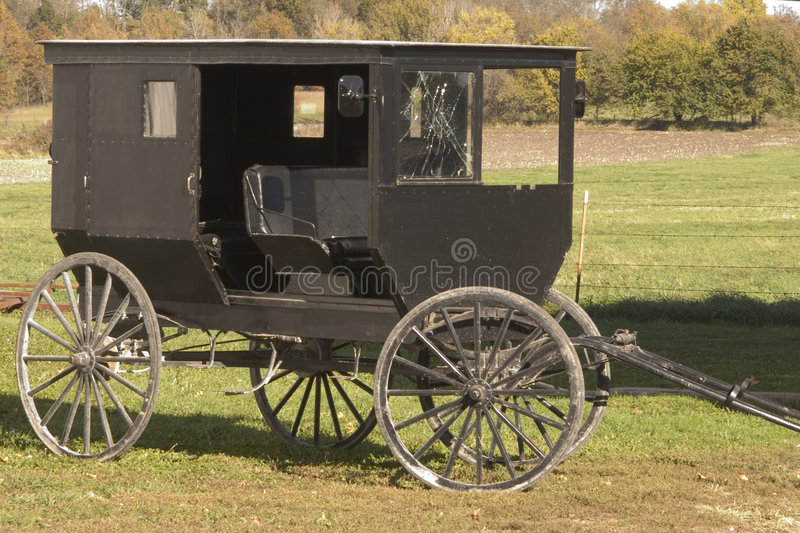 Download Shattered Amish Buggy Glass Stock Image - Image: 34191
