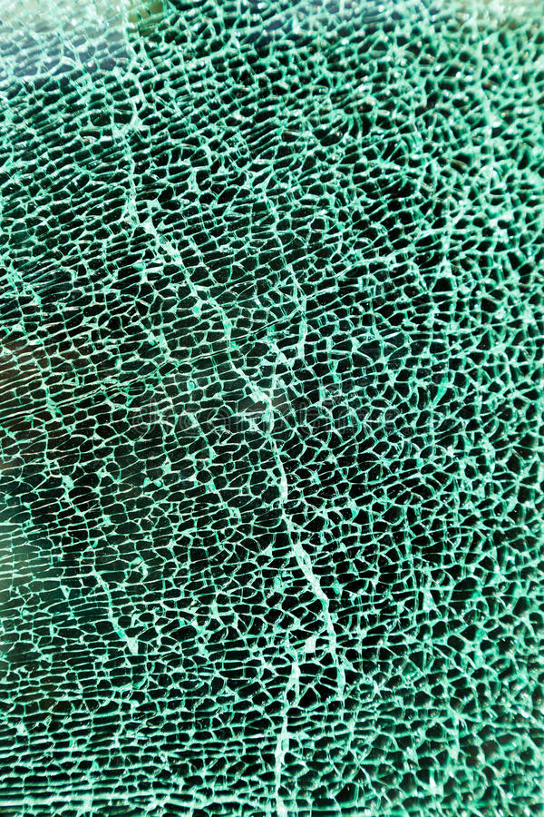 Download A Shattered Glass Pane In The Car Royalty Free Stock Photography - Image: 24935557