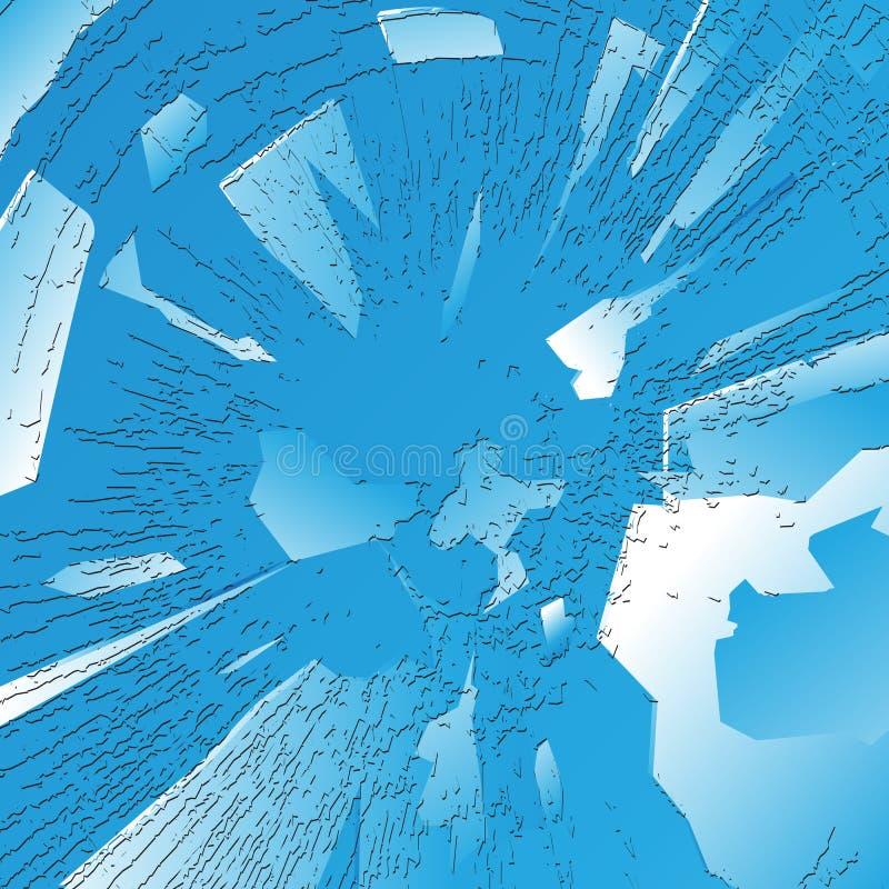 Download Shattered glass, window stock vector. Illustration of broken - 28681078