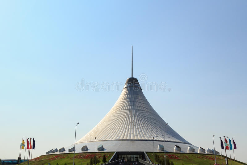 Shatyr de Khan Astana, Kazakhstan photos libres de droits