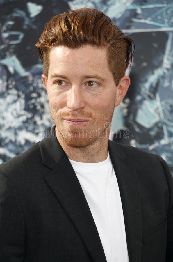 Shaun White photographie stock