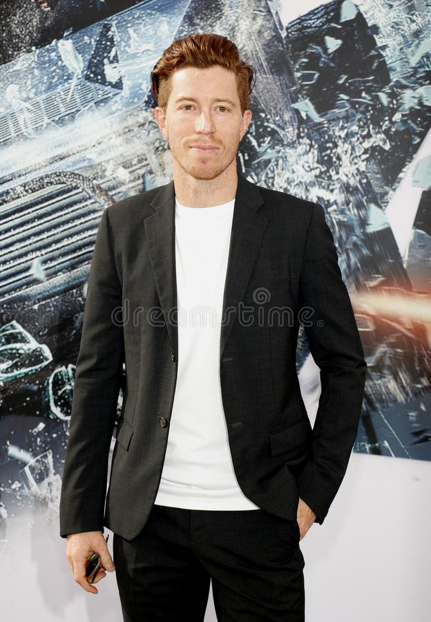 Shaun White. At the World premiere of `Fast & Furious Presents: Hobbs & Shaw` held at the Dolby Theatre in Hollywood, USA on July 13, 2019 royalty free stock image