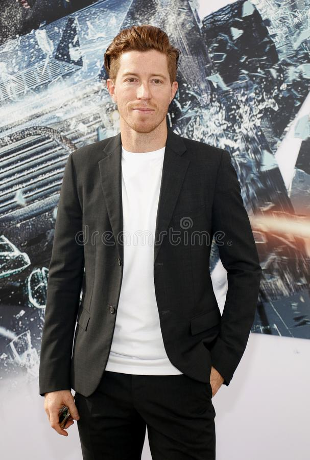 Shaun White. At the World premiere of `Fast & Furious Presents: Hobbs & Shaw` held at the Dolby Theatre in Hollywood, USA on July 13, 2019 royalty free stock photography