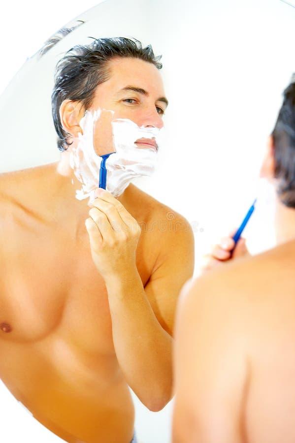 Shaving Royalty Free Stock Photography