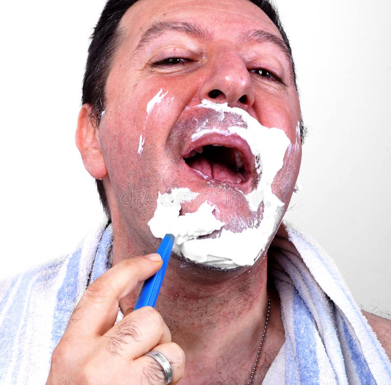 shaving stock foto