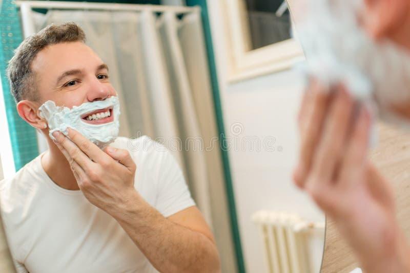shaving royalty-vrije stock afbeeldingen