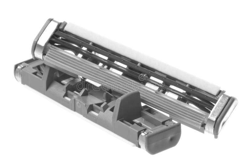 Download Shaving Blades Macro Isolated Stock Photo - Image: 12346208