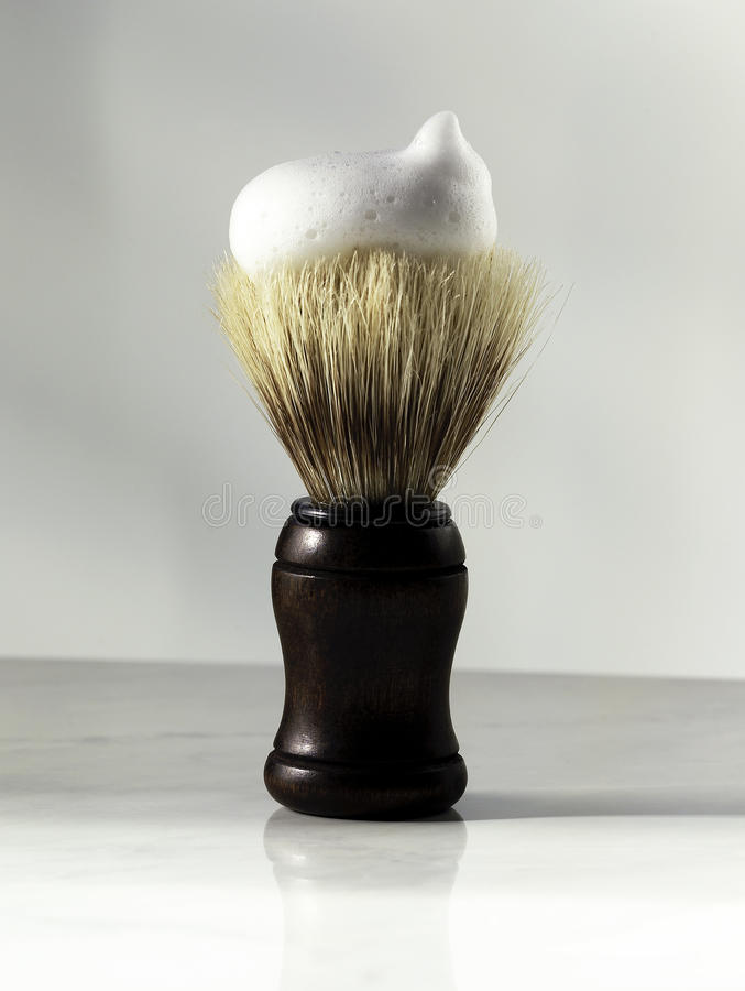 Shaving brush royalty free stock photos