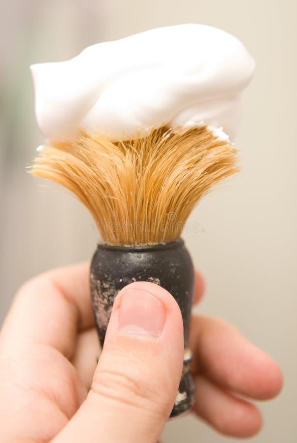 Shaving brush stock images