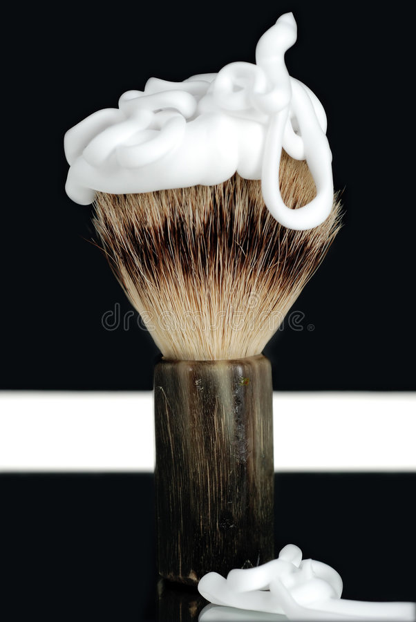 Shaving Brush royalty free stock images