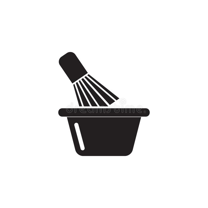 shaving brush icon. Element of beauty saloon icon for mobile concept and web apps. Detailed shaving brush icon can be used for web vector illustration