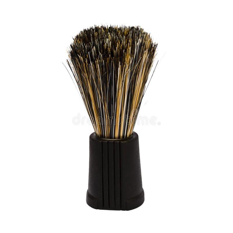 Download Shaving Brush stock photo. Image of closeup, black, threads - 29863342