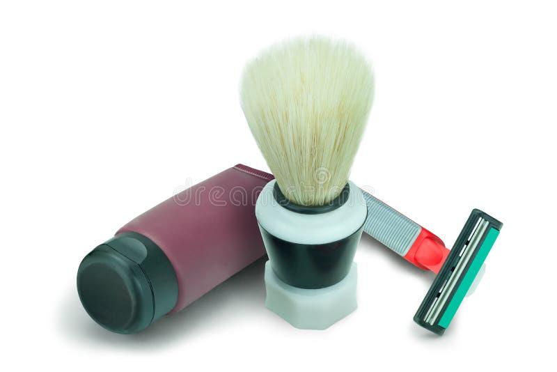 Shaving kit stock images