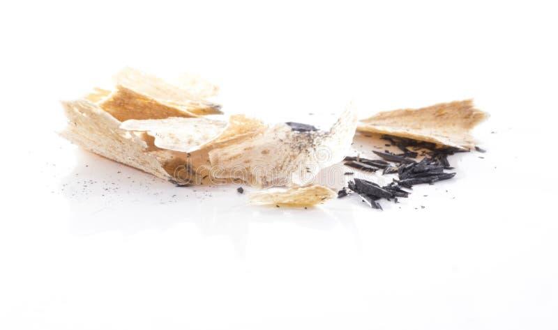 Shavings Pensil стоковое изображение rf