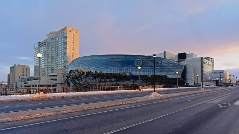 Shaw Centre, förr den Ottawa regelmitten, royaltyfri bild