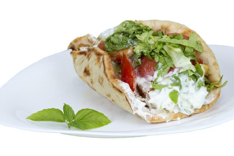 Shawarma royalty-vrije stock foto's