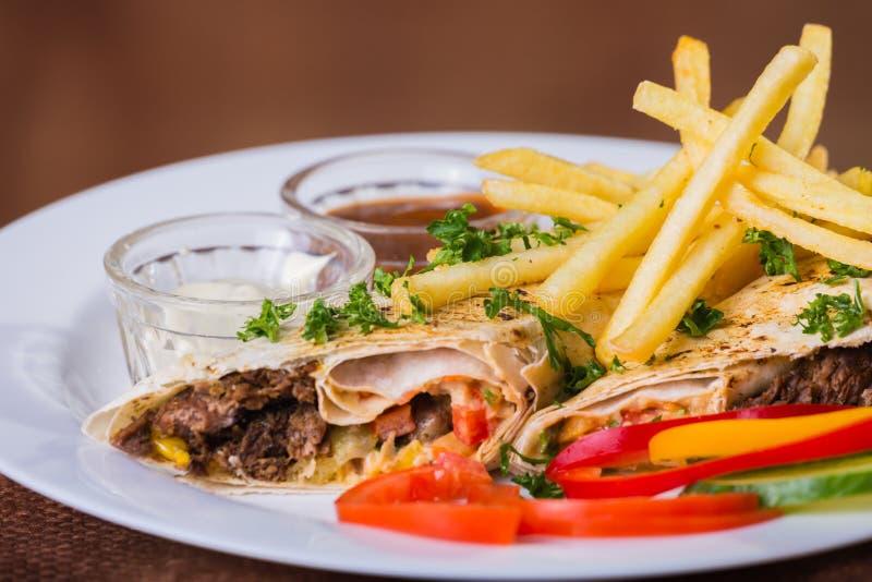 Shawarma images libres de droits