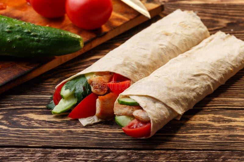 Shawarma photographie stock