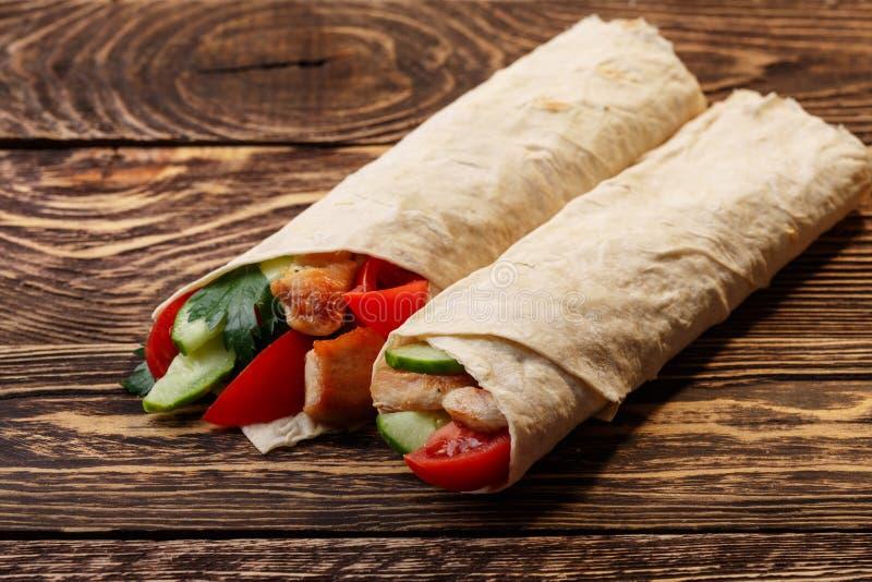 Shawarma royaltyfri bild