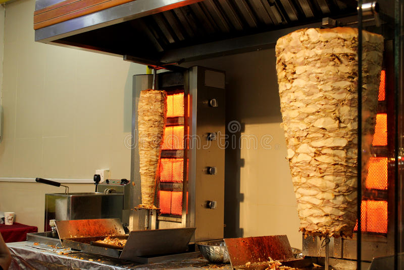 Shawarma 免版税库存图片