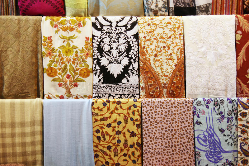 Download Shawl market stock image. Image of accessories, turkey - 16400873