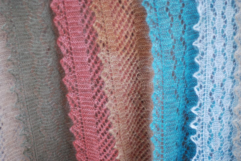 Shawls royalty free stock images