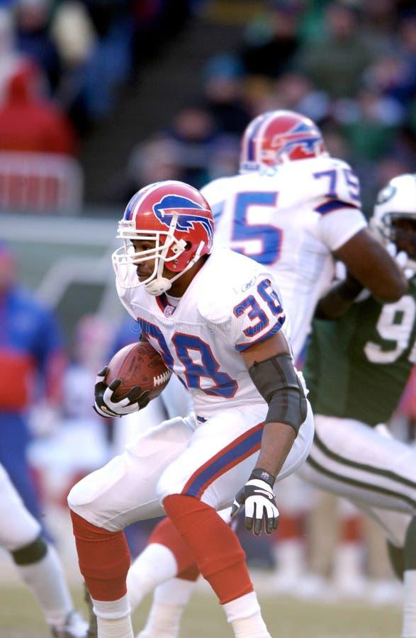 Shawn Bryson. Buffalo Bills Running back Shawn Bryson #38. Image taken from color slide stock photos