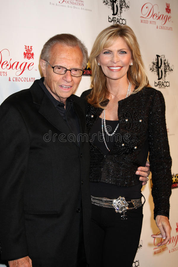 Shawn Southwick, Larry King image stock