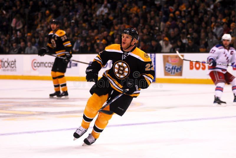 Shawn Thornton Boston Bruins. Boston Bruins enforcer Shawn Thornton #22 royalty free stock images