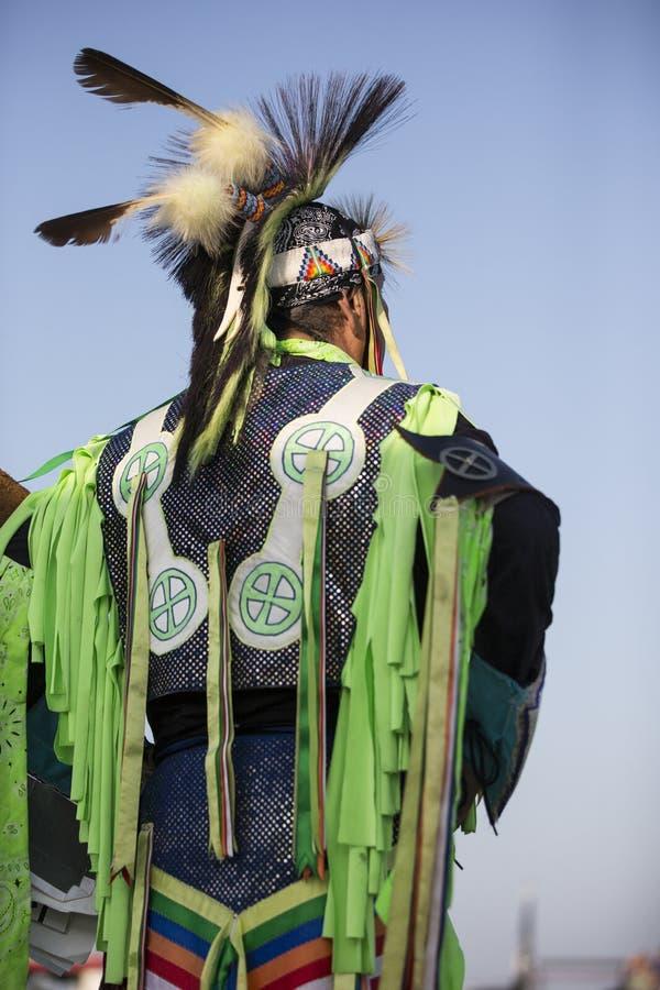Shawnee Indian mais idosa imagens de stock