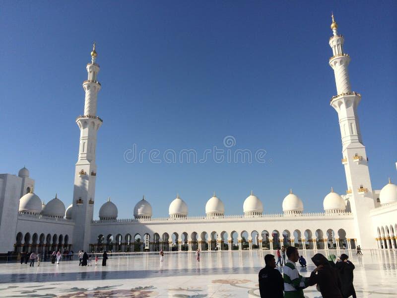 Shaykh Zayed Mosque imagen de archivo libre de regalías