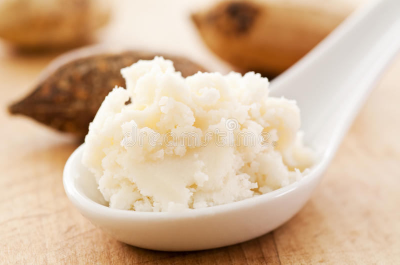 Shea butter royalty free stock images