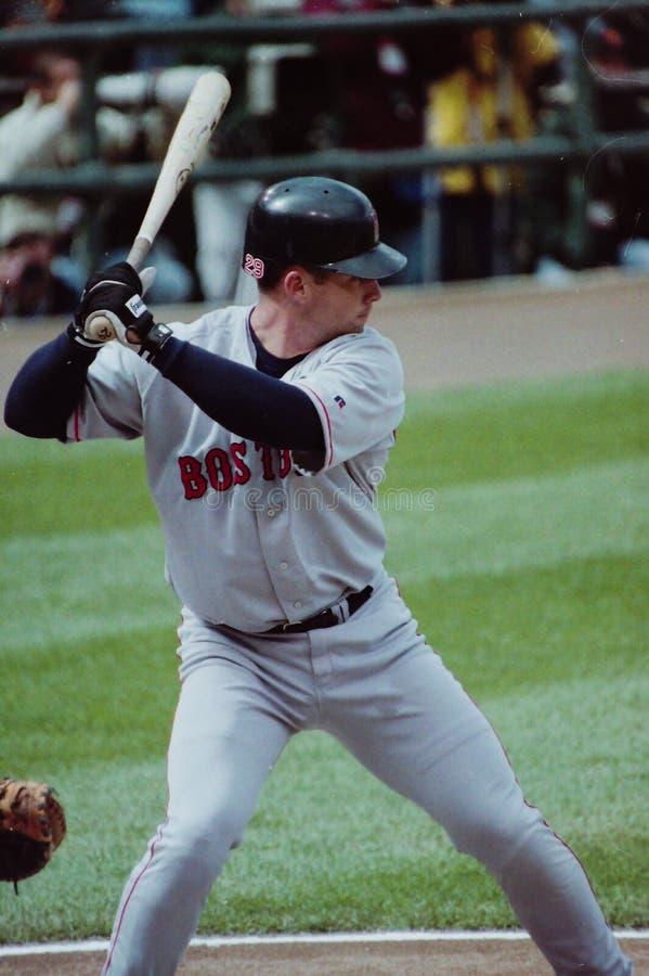 Shea Hillenbrand, les Red Sox de Boston photographie stock libre de droits