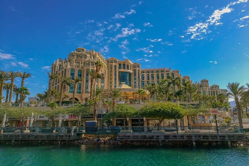 Sheba hotell eilat royaltyfria foton