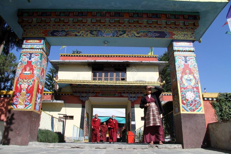 Shechen monaster zdjęcie royalty free
