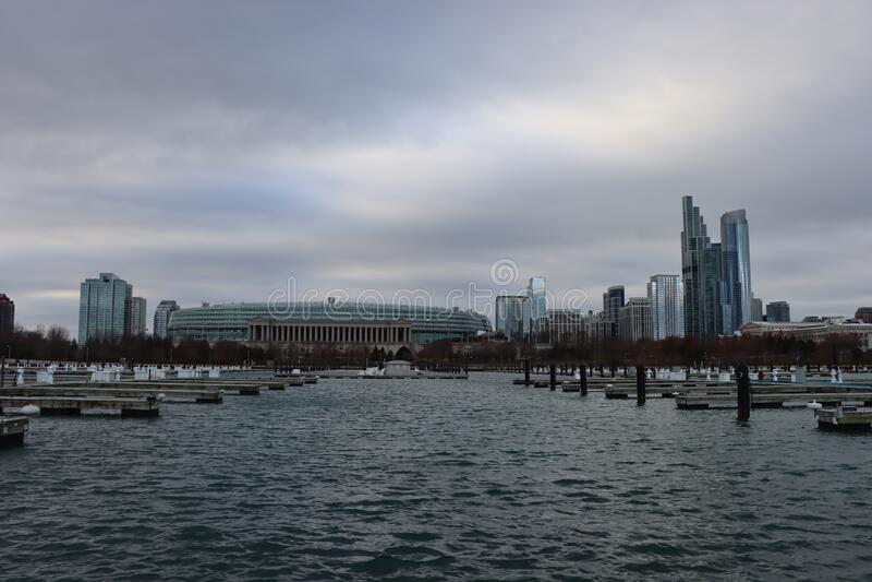 Shedd Aquarium i Chicago royaltyfri bild