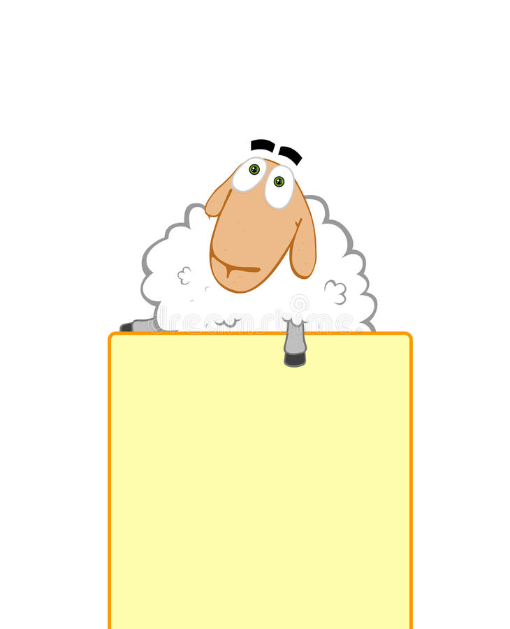 Download Sheep Helps To Promote Your Business Royalty Free Stock Image - Image: 10733336