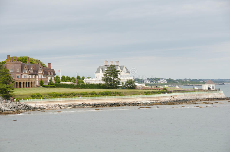 Sheep Point Cove - Newport - Rhode Island royalty free stock photography